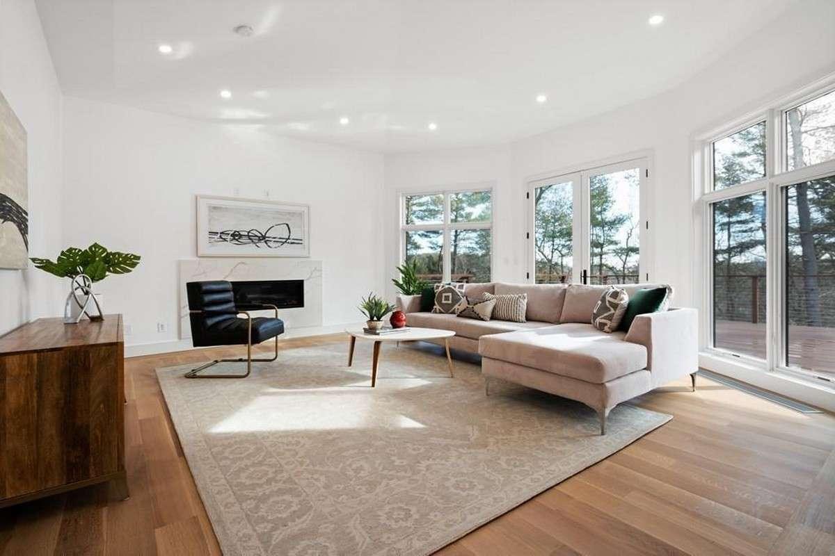 Custom Home Built in Weston MA